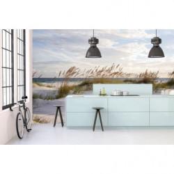 Poster panoramique ou poster de porte plage océan