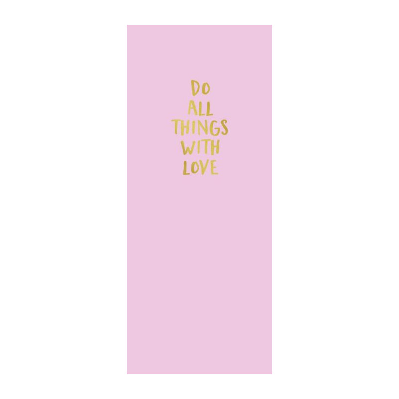 DO ALL THINGS WITH LOVE poster