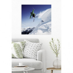 Tableau ski acrobatique