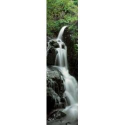 Tenture murale verticale cascade naturelle