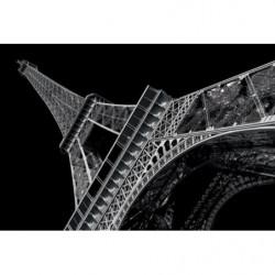 Cuadro en lienzo la Torre Eiffel de noche