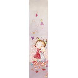 Papier peint pour chambre de petite fille