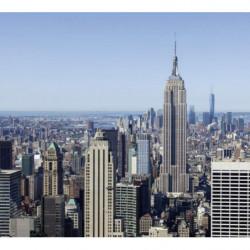 Papier peint New York et son Empire state Bulding