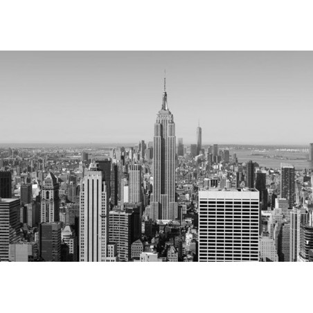EMPIRE STATE BUILDING B&W poster