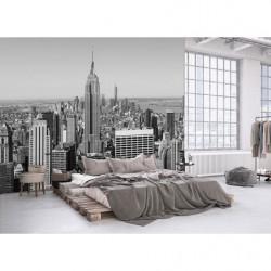 Poster noir et blanc Empire State building