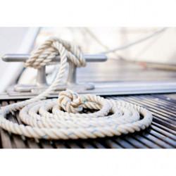 Cuadro de cuerda de marinero para la decoración original de la pared