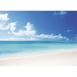 Tableau déco plage et mer turquoise
