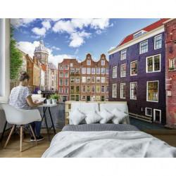 Papier peint panoramique photo d'Amsterdam