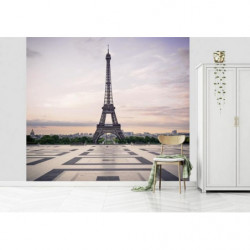 Póster panorámico París Trocadero