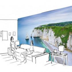 Papier peint photo falaise d'Etretat