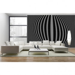 black and white  graphic poster  - forest
