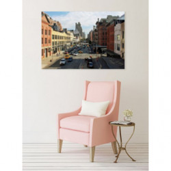 Street style canvas print for urban style