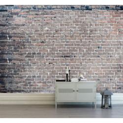 Industrial wallpaper brick wall