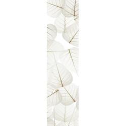 Brise vue feuilles blanches