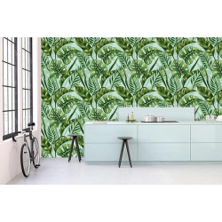 Poster feuillage tropical tendance