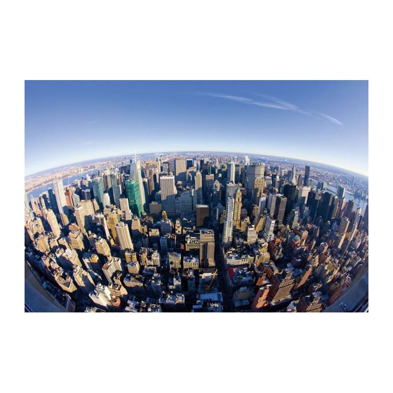 New York en fisheye