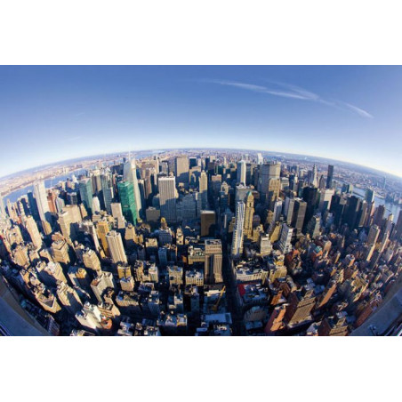 Papier Peint FISHEYE NEW YORK