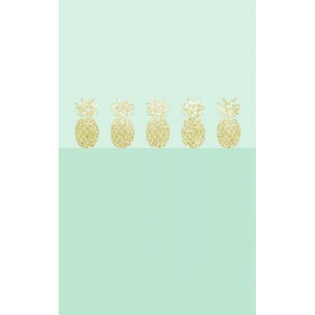 GOLDEN PINEAPPLE wallpaper