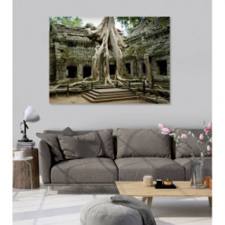 Landscape canvas print of the remains of Angkor temples