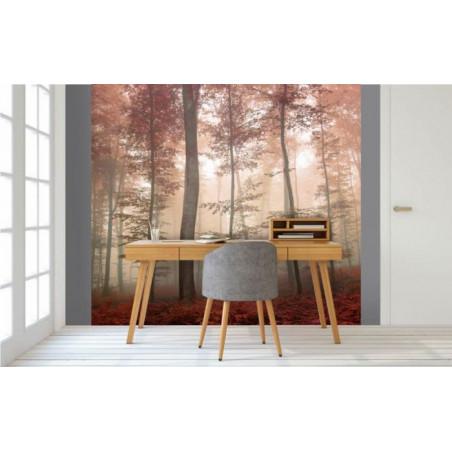 PURPLE FOREST Wallpaper