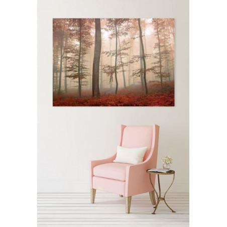 PURPLE FOREST Canvas print