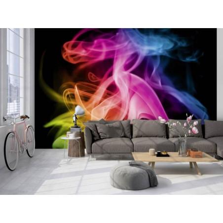 COLOURED SMOKE Wallpaper