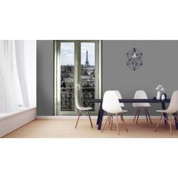 Papier peint fenêtre sur Paris