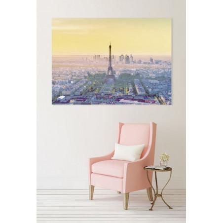 GRAPHIC VIEW PARIS canvas print