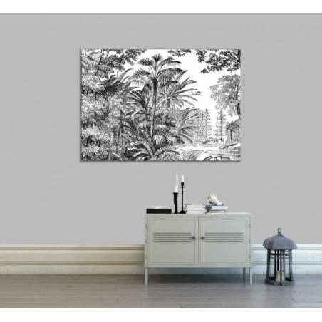 ANTIQUE ENGRAVING Canvas print