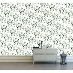 Poster motif eucalyptus vert