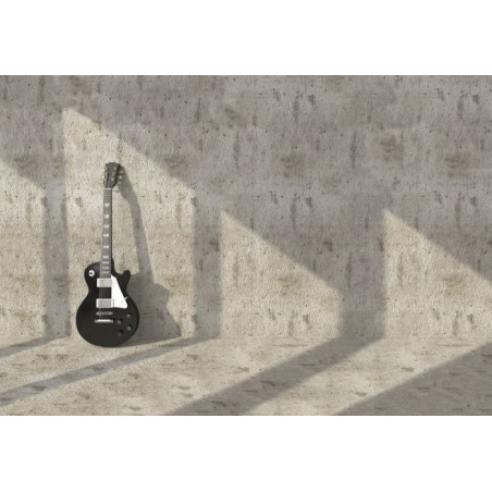 GUITAR ON THE WALL canvas print