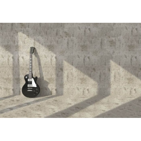 GUITAR ON THE WALL poster