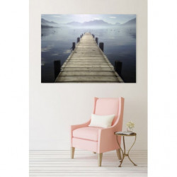 ANNECY IN THE MIST Canvas print