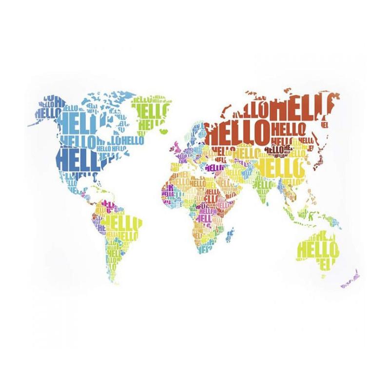 Papier Peint HELLO WORLD