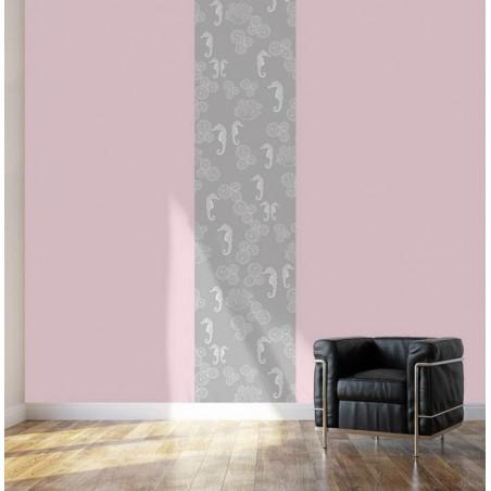 GREY SEAHORSE wallpaper