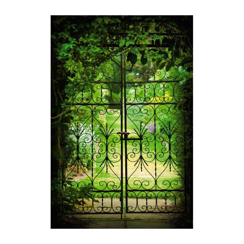 Jardinet un trompe l 39 oeil tonnant pour votre ext rieur for Porte exterieur de jardin