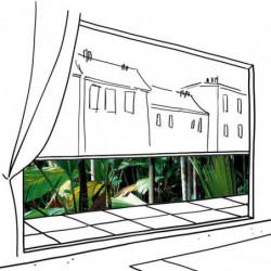 Brise vue jungle : cache balcon avec feuillage dense