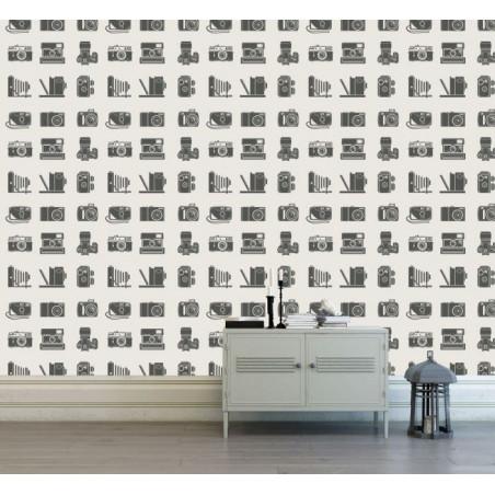 Papier Peint APPAREILS PHOTOS VINTAGE