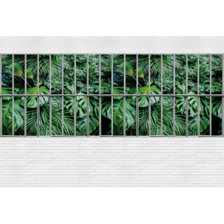 JUNGLE GLASS ROOF Poster