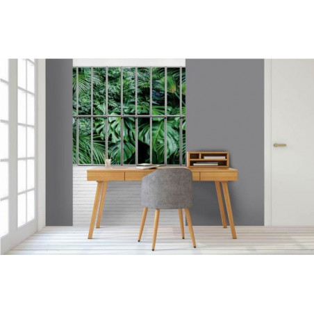 JUNGLE GLASS ROOF Wall hanging