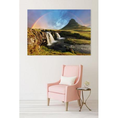 KIRKJUFELLSFOSS ICELAND Canvas print