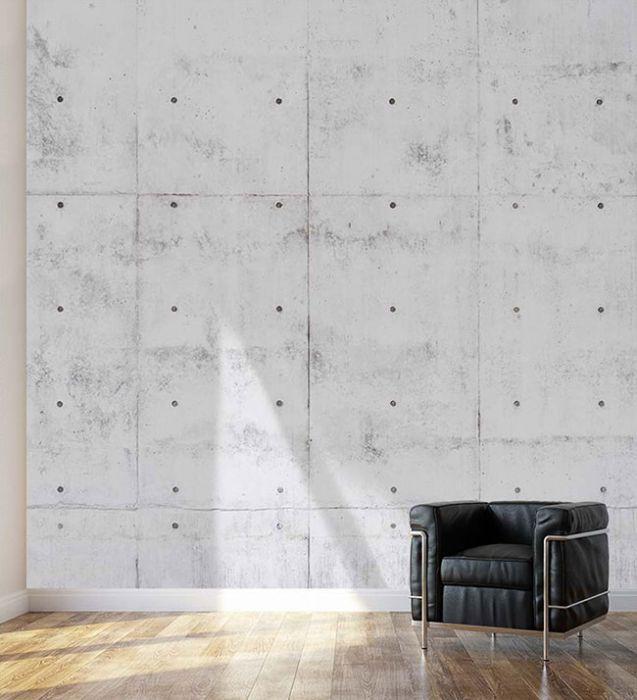 trompe l 39 oeil briques blanches par scenolia fabriquant de d co murale. Black Bedroom Furniture Sets. Home Design Ideas