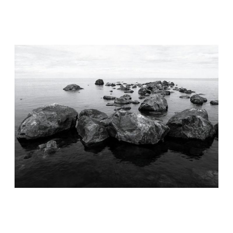 Tableau mer noir et blanc