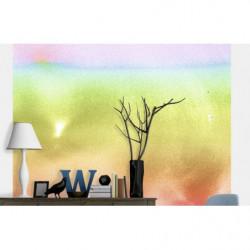 Papier peint aquarelle colorée