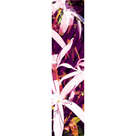 PURPLE FLOWERS privacy screen