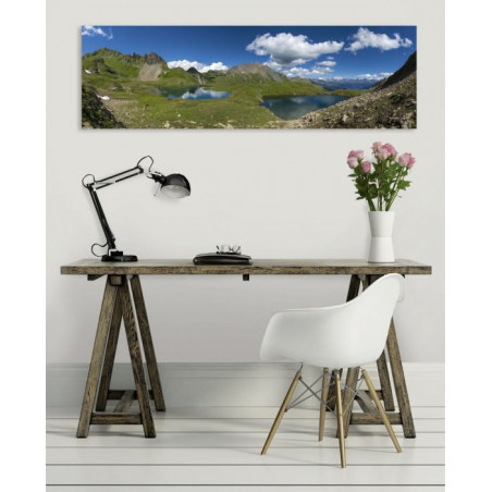 THE FIVE LAKES canvas print