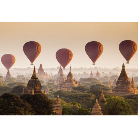 THE TEMPLES OF BAGAN Poster