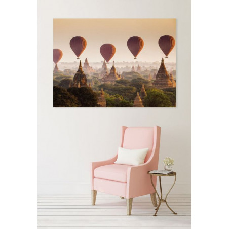 THE TEMPLES OF BAGAN Canvas print