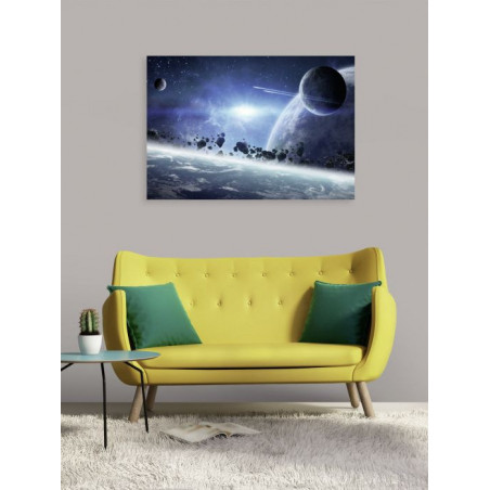 THE SPACE canvas print