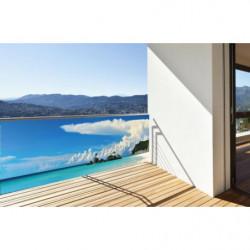 Brise vue paysage mer turquoise
